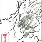 (English) 雷獣(イラスト:オメガ・コミュニケーションズ)