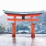 (日本語) 雪の厳島神社
